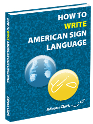 howrite How to Write ASL Book