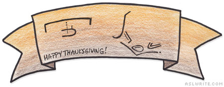 HTG 7 Ways to Write Thanksgiving